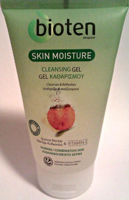 Bioten Skin Moisture Cleansing gel quince nectar& vitamin E