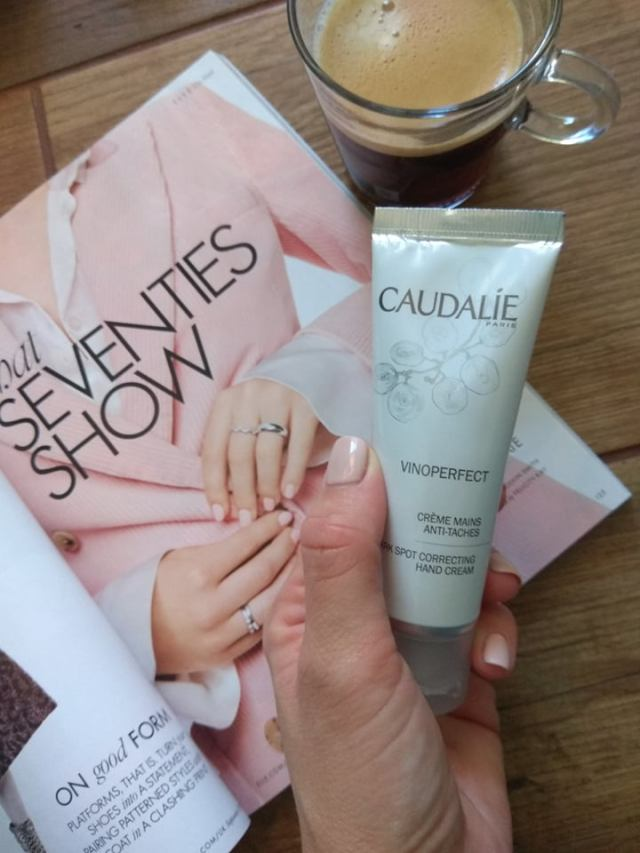 caudalie vinoperfect hand cream